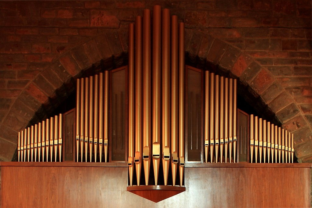 Detail of the Organ Facade