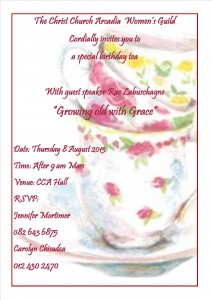 Womens guild tea 2